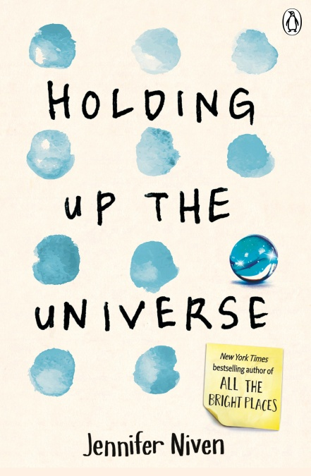 "Original-Cover von Jennifer Nivens Buch ""Holding up the universe"" (Quelle: Penguin)"