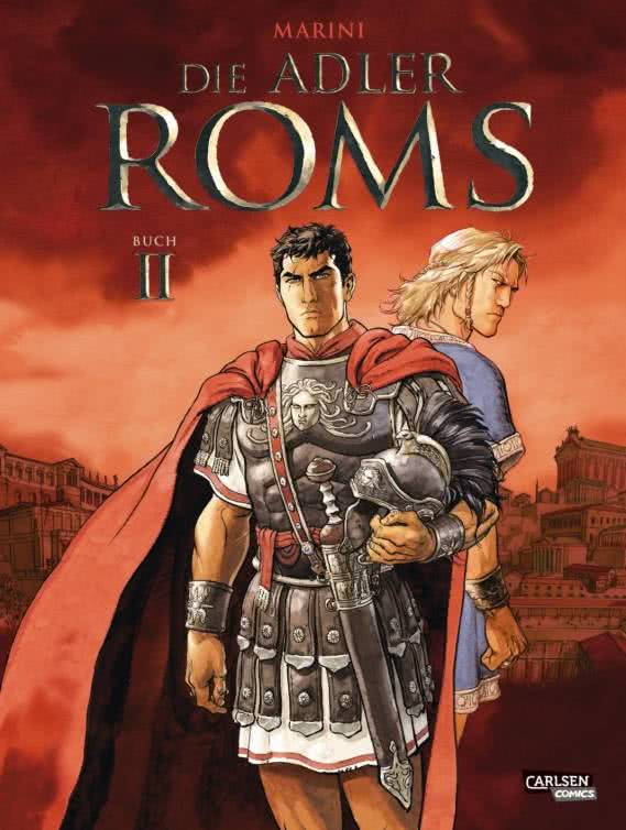 "Cover ""Marini - Die Adler Roms"" Buch II"