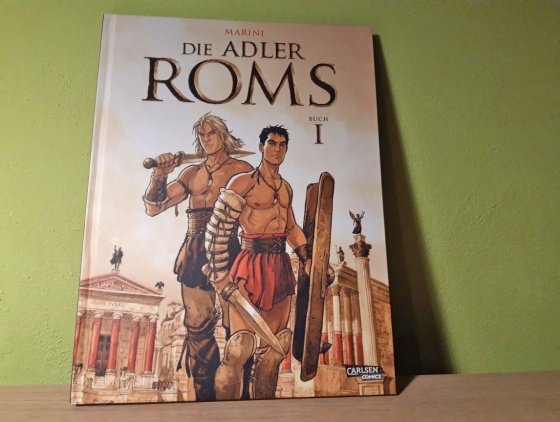 Comic -Marini - Die Adler Roms Band 1