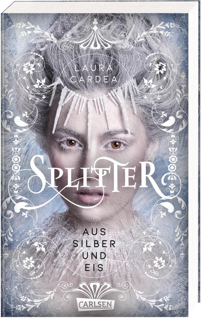 Buch-Cover Laura Cardea: Splitter aus Silber und Eis, Carlsen Verlag