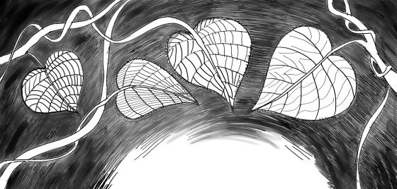 Lindenherz - Zeichnung Tala T