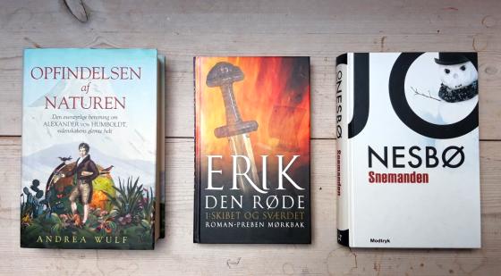 3 verschiedene Buchcover