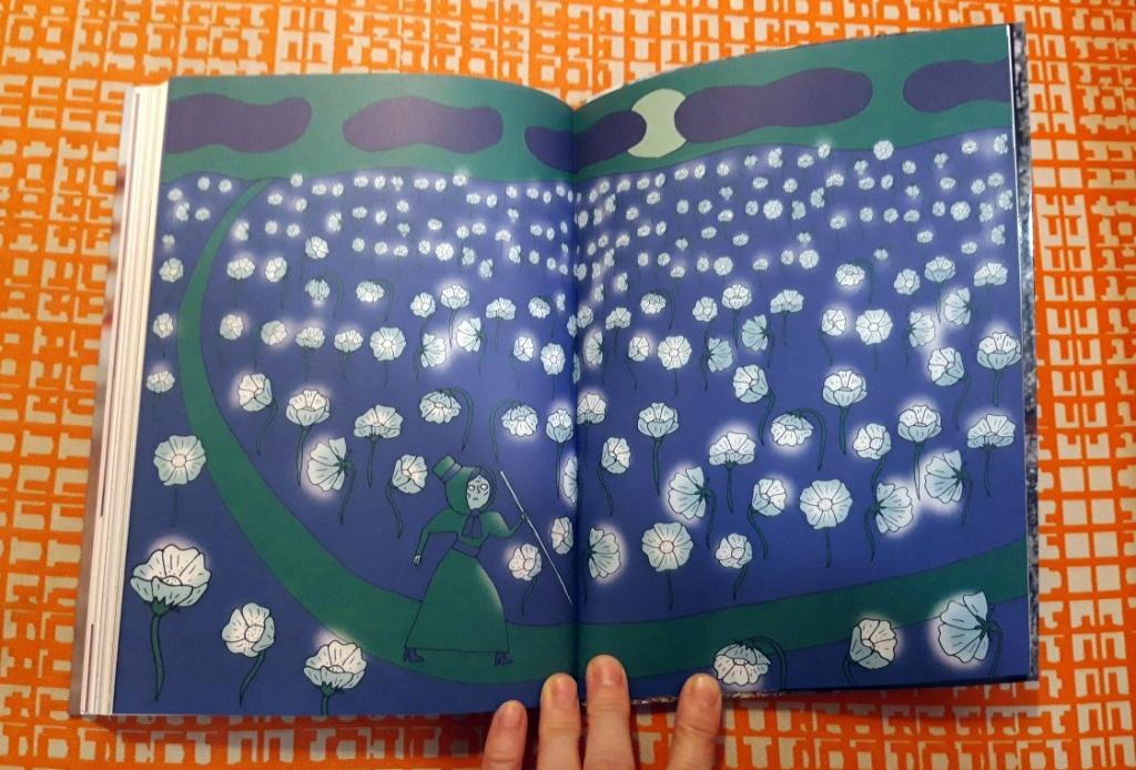 """Kaiserin Sissi beim Spazieren - Ausschnitt aus Liv Strömquists """"Im Spiegelsaal"""" (hier das schwedische Original)"""